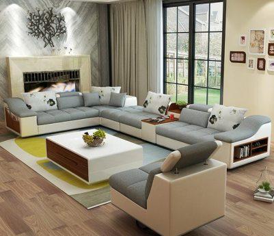 i shaped sofa